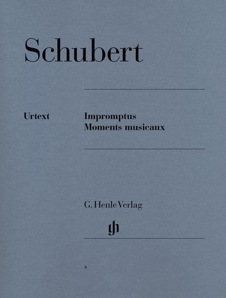 Henle Verlag Schubert Impromptus Moments