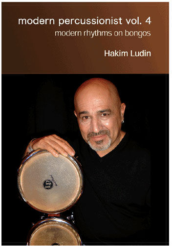 Hakim Ludin Modern Percussionist Bongos