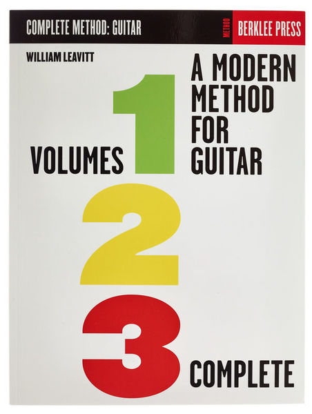 Berklee Press A Modern Methode for Guitar