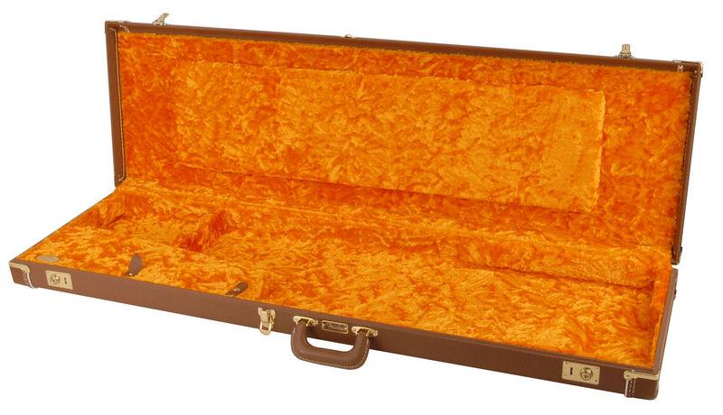 Fender E-Bass Delux Case Brown Tolex