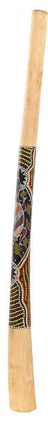 Thomann Didgeridoo Teak130cm Bemalt