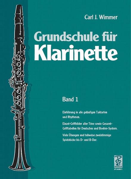 Musikverlag Josef Preißler Wimmer Schule für Klarinette 1