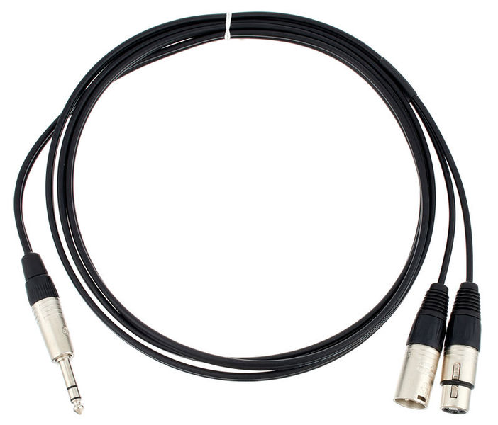 Sommer Cable Onyx Insert Cable 2,5