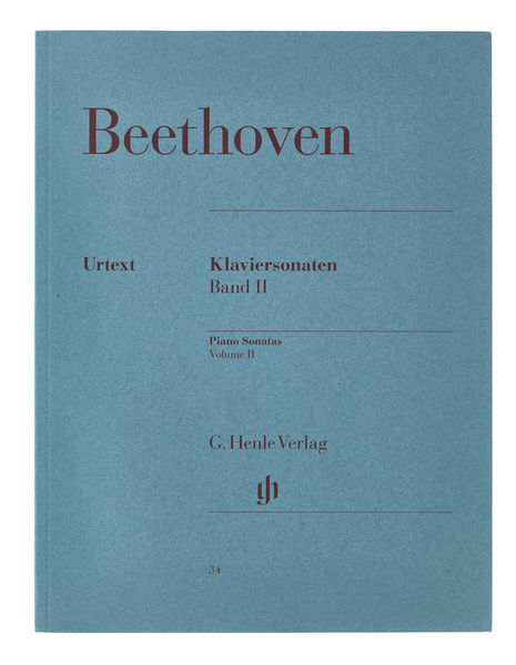 Henle Verlag Beethoven Klaviersonaten 2