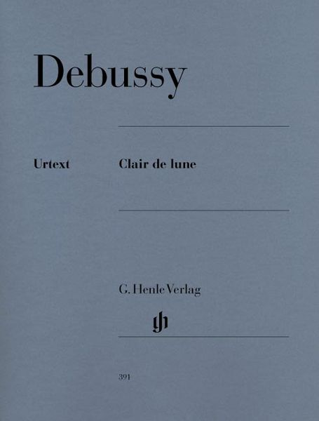 Henle Verlag Debussy Clair De Lune