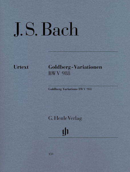 Henle Verlag Bach Goldberg-Variationen