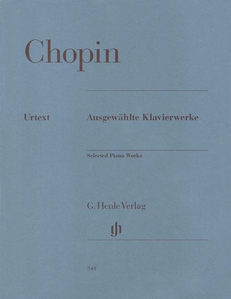 Henle Verlag Chopin Klavierwerke