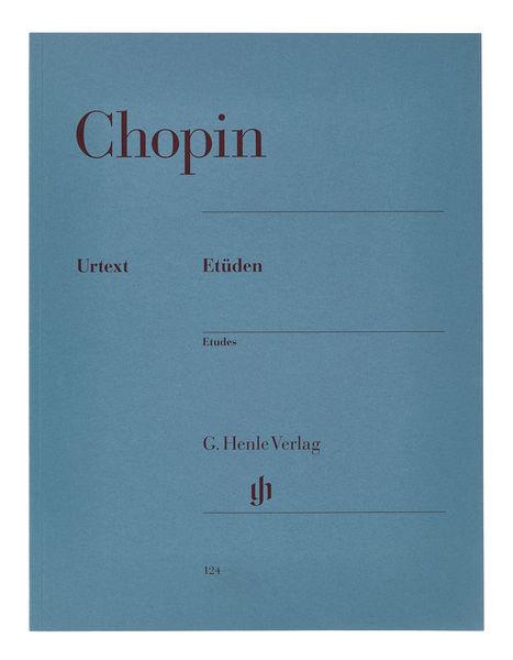 Henle Verlag Chopin Etüden op.10/op.25