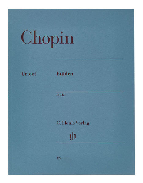 Henle Verlag Chopin Etüden