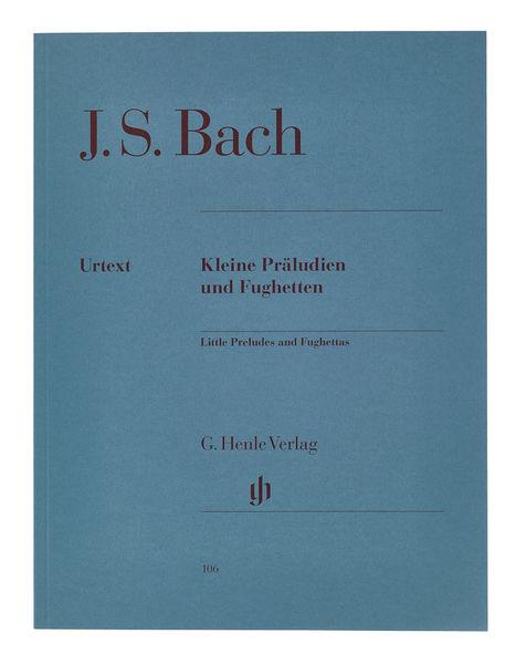 Henle Verlag Bach Präludien & Fughetten