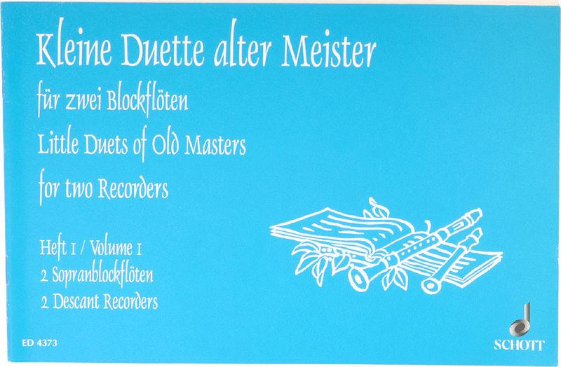 Schott Kleine Duette alter Meister