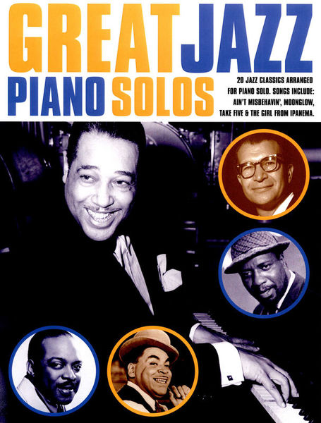 Wise Publications Great Jazz Piano Solos