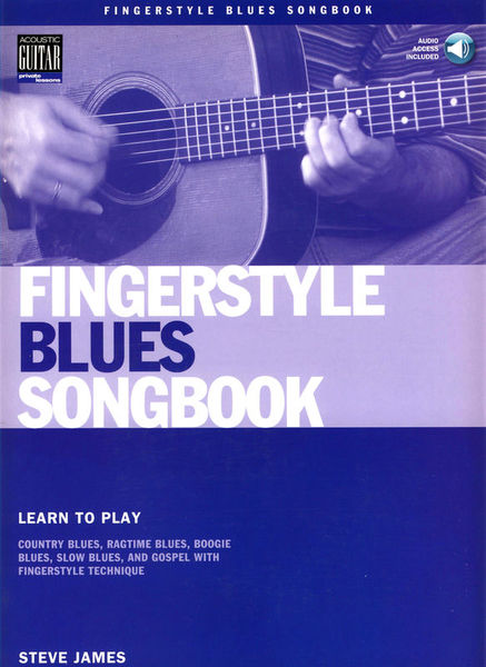 Music Sales Fingerstyle Blues Songbook
