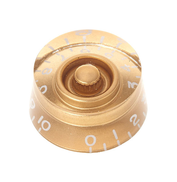 Harley Benton Parts SC-Style Speedknob Gold