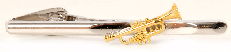 Art of Music Tie Holder Trumpet