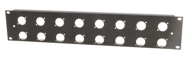 Thon Rack Panel 2U 16XLR 90°