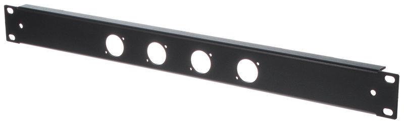 Thon Rack Panel 1U 4XLR 90°