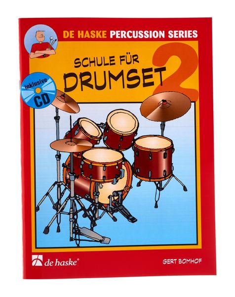 Schule für Drum Set Bd. 2 De Haske