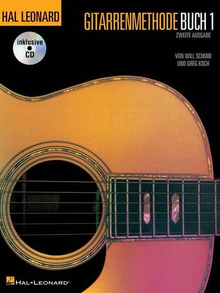 Hal Leonard Gitarrenmethode + CD Vol.1