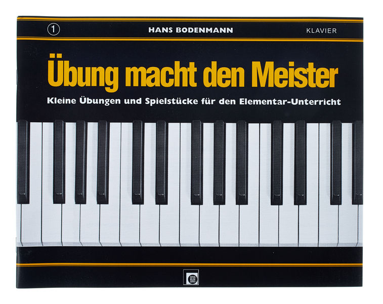 Edition Melodie Übung macht den Meister 1