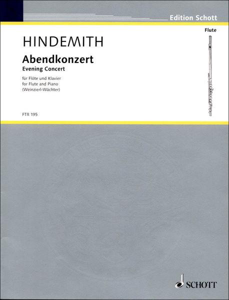 Schott Hindemith Abendkonzert
