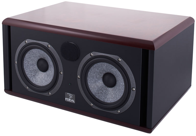 Focal Twin 6 Be red burr ash