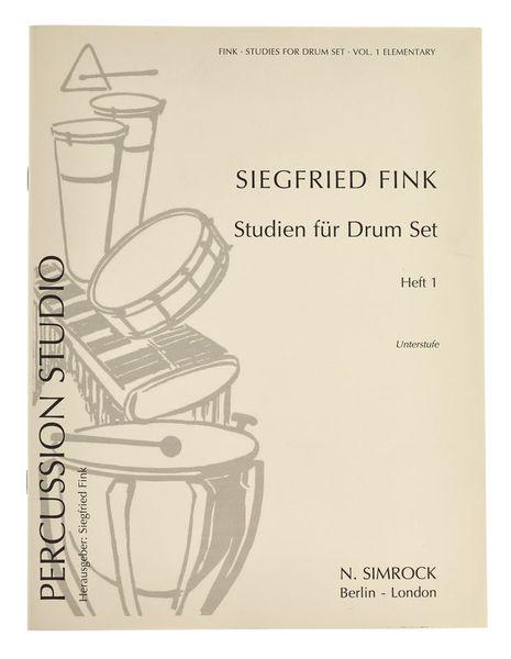 Simrock Fink Studien für Drum Set 1