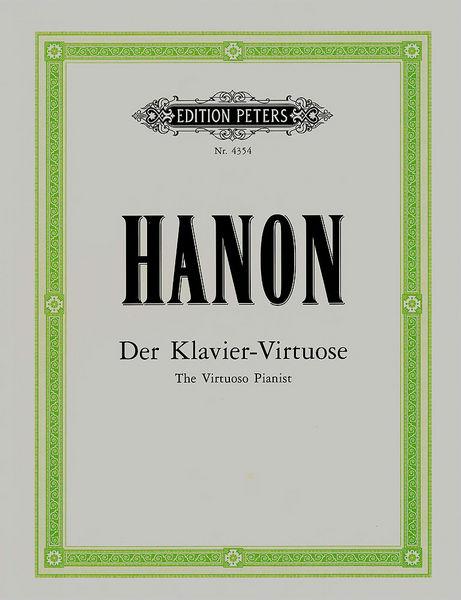 C.F. Peters Hanon Der Klavier-Virtuose