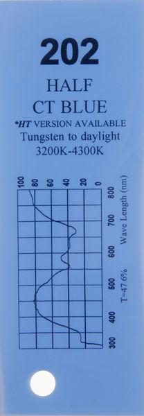 Q-Max Filter Roll 202 Half C.T. Blue