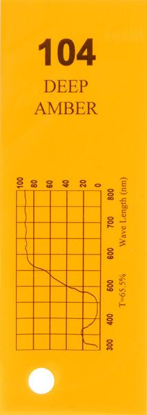 Q-Max Filter Roll 104 Deep Amber