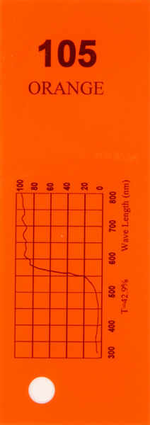 Q-Max Filter Roll 105 Orange
