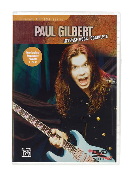 Alfred Music Publishing Paul Gilbert Intense Rock