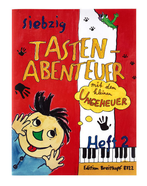 Breitkopf & Härtel 70 Tastenabenteuer Bd.2