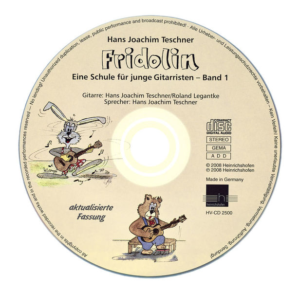 E Heinrichshofen Fridolin CD