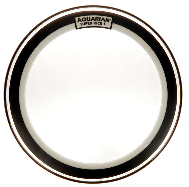 "Aquarian 26"" Super Kick Clear Bass Drum"