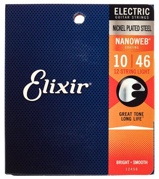 Elixir 12450 Nanoweb 12 String