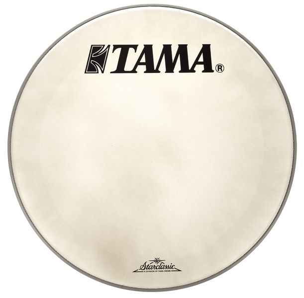 "Tama 20"" Resonant Bass Drum White"