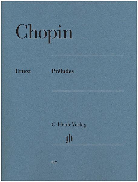 Henle Verlag Chopin Préludes