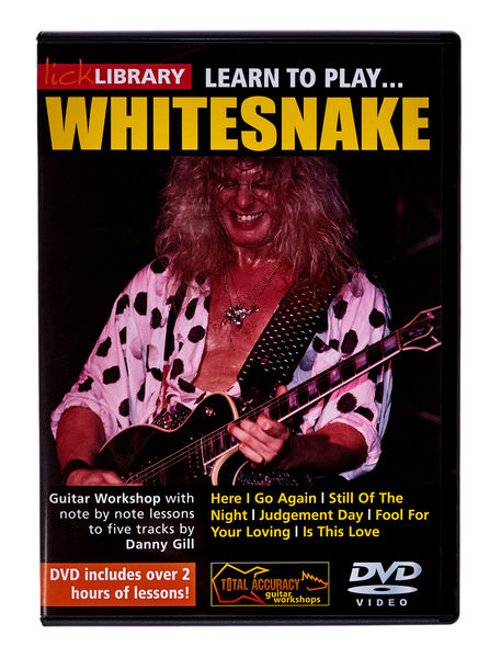 Music Sales Whitesnake Learn to Play