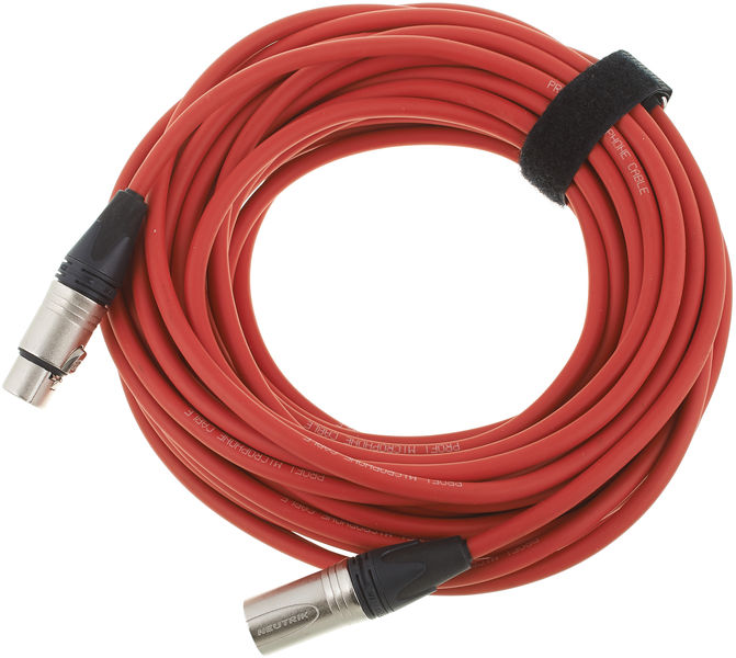 pro snake 17900 Mic-Cable 15m Red