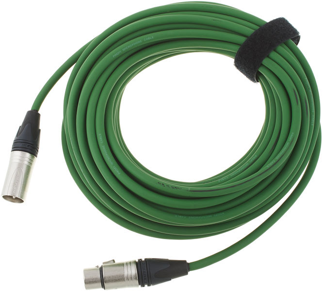 pro snake 17900 Mic-Cable 15m Green