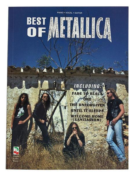 Hal Leonard Metallica Best Of PVG