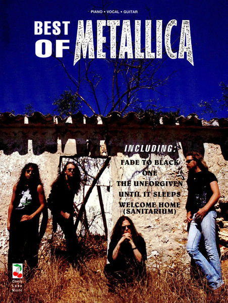 Music Sales Best Of Metallica PVG