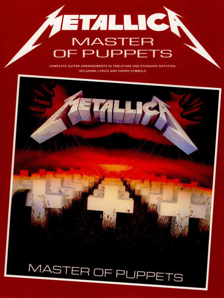 Metallica Master Of Puppets Music Sales