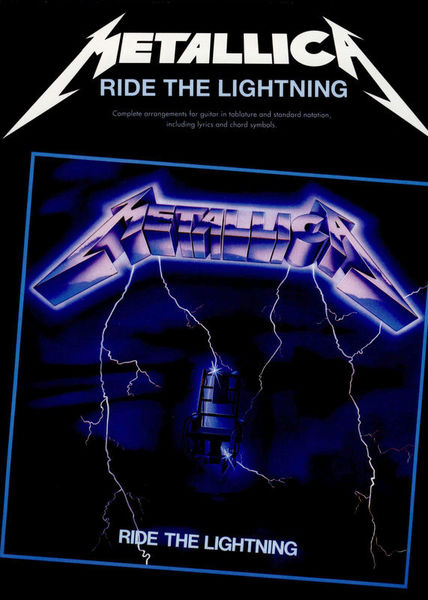 Metallica Ride The Lightning Music Sales