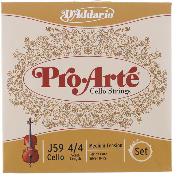 Daddario J59 Pro Arte Cello 4/4 medium