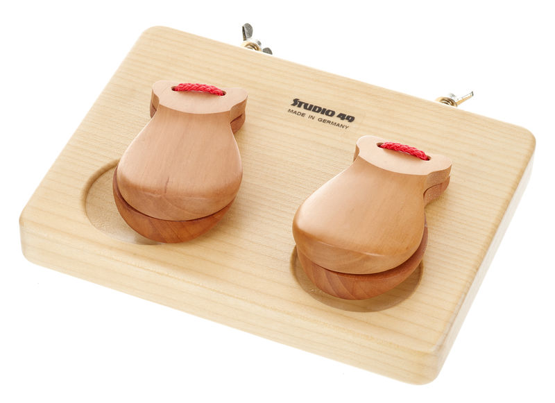 Studio 49 KBR Castanets on Wooden Frame