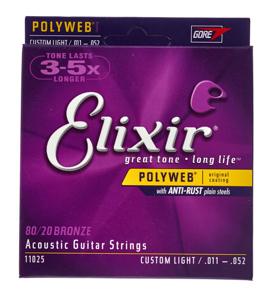 Elixir Polyweb Custom Light Acoustic