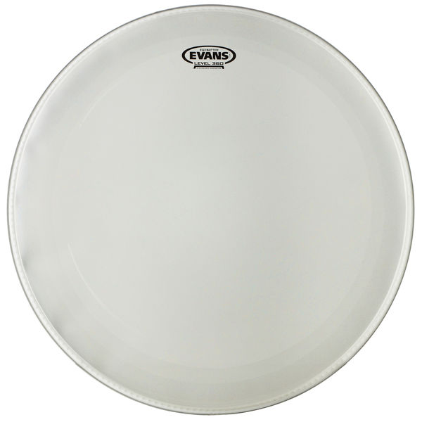 "Evans 22"" EQ3 Bass Drum Frosted"