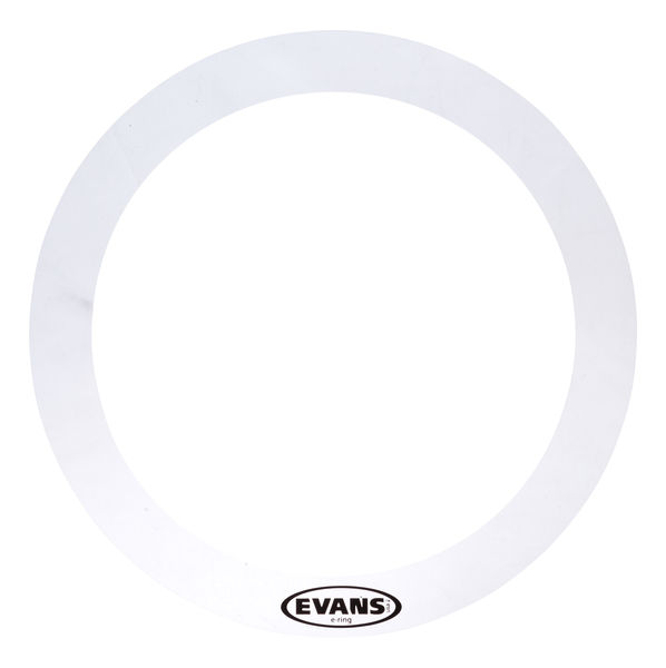 "Evans E-Ring 10"" Clear Tom"
